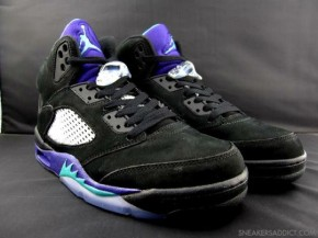 Air Jordan 5 Retro 'Aqua/Black Grape'