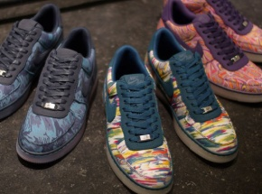 "Liberty London x Nike Air Force One ""Downtown"" Pack"