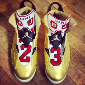 "Air Jordan VI ""91 Champ"" Custom by El Cappy"