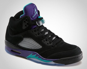 "Air Jordan V – ""Black Grape"" Release Information"