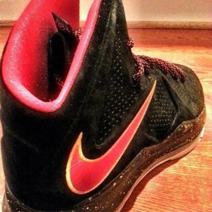 Nike-LeBron-X-Black-Suede-Red-Yellow