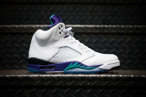 "Release Reminder: Air Jordan V – ""Grape"""
