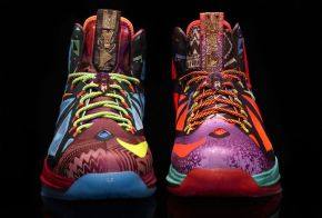 "Nike LeBron X – ""What the MVP"""