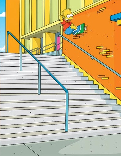bart_simpson_skates_hollywood_high_rail