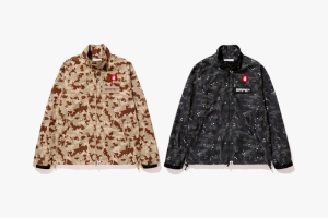 Desert Camo Rain Jacket - Photo: BAPE