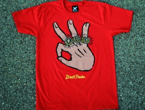 """3 Rings"" Tee - Photo: Draft Packs"
