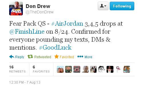 Drew Tweet