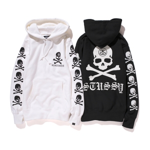 mastermind Japan x Stussy Hoodies - Photo: mastermind Japan