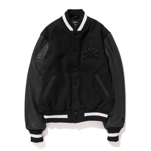 mastermind Japan x Stussy Varsity Jacket - Photo: mastermind Japan