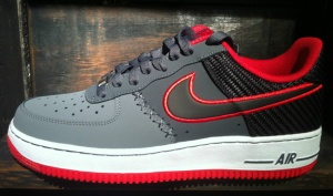 san francisco 36290 6e2e4 nike air force one high wolf grey hyper red