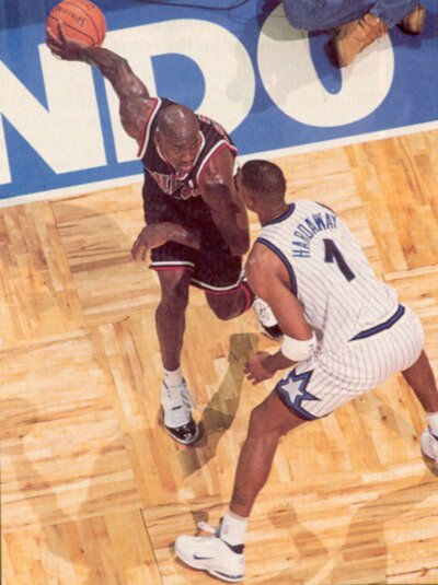 image. Around October 1995, Nike released the first Penny Hardaway  signature shoe, the Nike Air Penny 1 ...