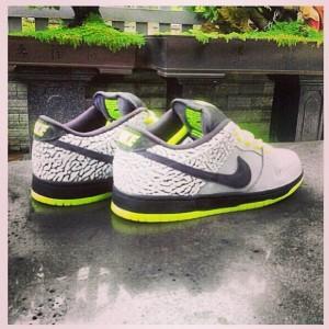"""DJ Clark Kent x Nike SB """"112"""" - Photo:  @processhsk via @franalations"""