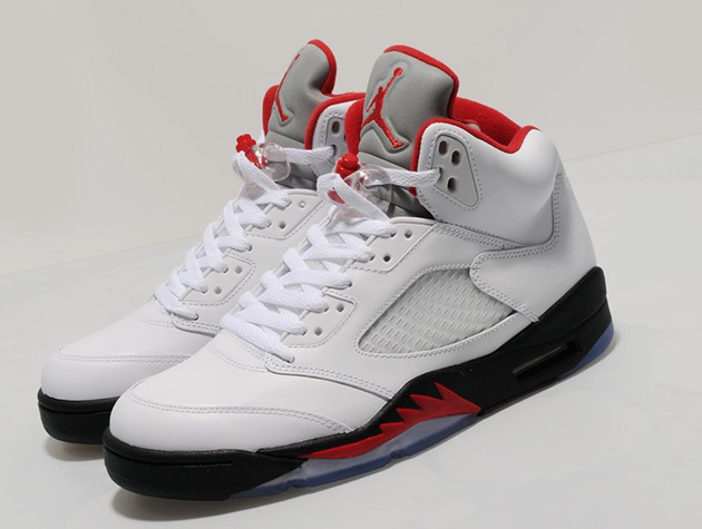 Air Jordan V 2013: Fire Red vs Fire Red | Midwest Sole ...