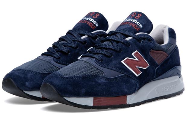 "New Balance 998 – ""Navy/Burgundy"