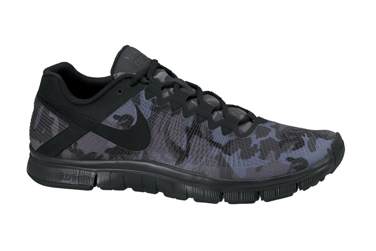 nike free trainer 3 0 camo pack midwest sole. Black Bedroom Furniture Sets. Home Design Ideas