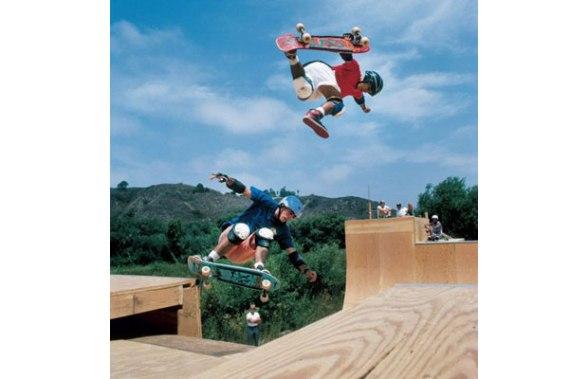 Steve Caballero (upper) in Air Jordan 1